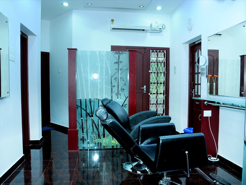 Bliss beauty solutions & makeup Studio Interior
