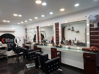 Bliss Makeup room